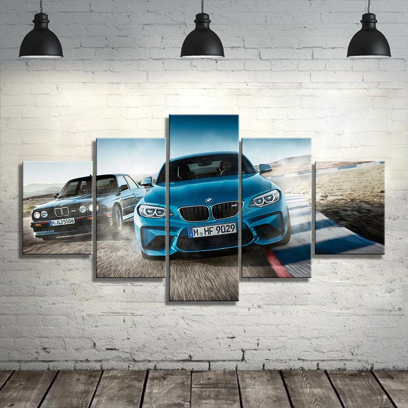 BMW M wall HD Canvas - MannenDingen