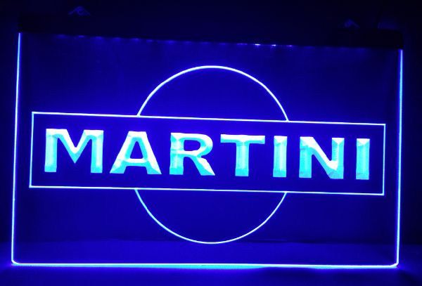 Martini LED Neon Sign - MannenDingen