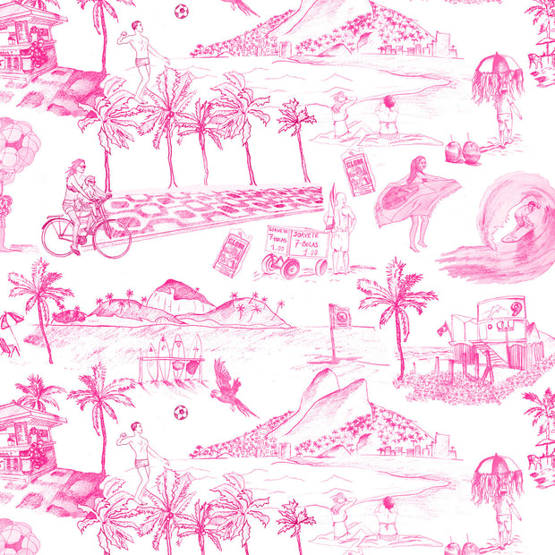 Pink Toile - WP