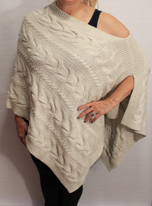 Classic Knot Poncho