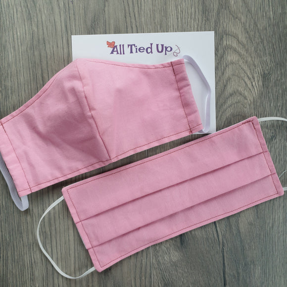 Fabric Face Mask Pink