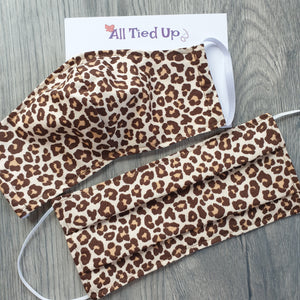 Fabric Face Mask Leopard Print