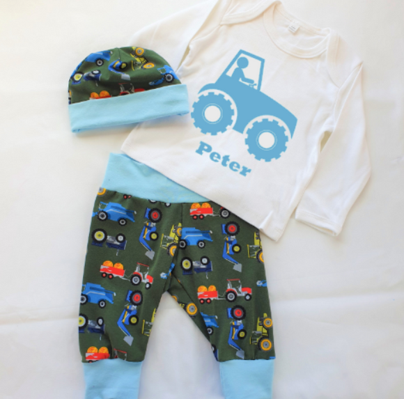 Personalised Boys Farm Set