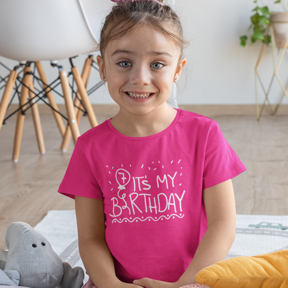 Balloon Personalised Birthday Tshirt