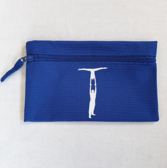 Partner Handstand Gymnastics Pencil Case