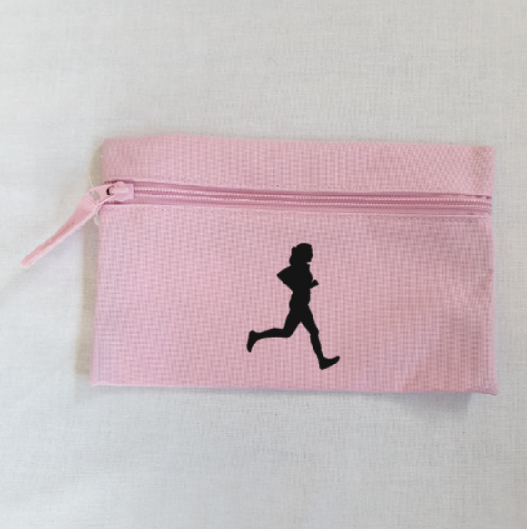 Female Runner Athletics Pencil Case