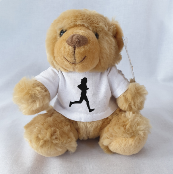 Female Runner Athletics Teddy Bear