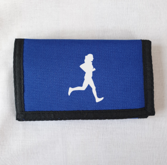 Female Runner Athletics Wallet