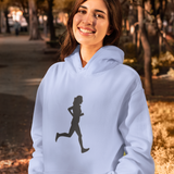Female Runner Athletics Hoody