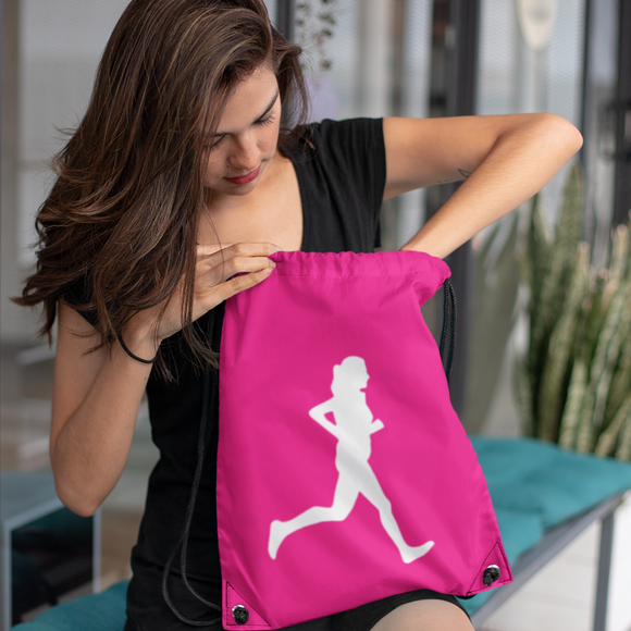 Female Runner Athletics Bag
