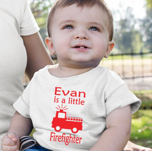 Fire Fighter Personalised Tshirt