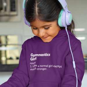 Gymnastics Girl Hoody