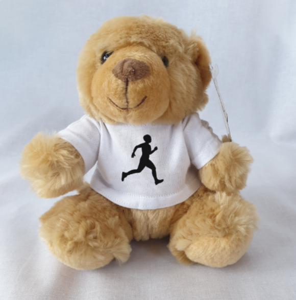 Male Runner Athletics Teddy Bear