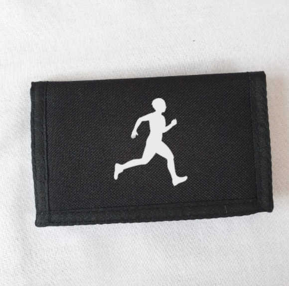Male Runner Athletics Wallet