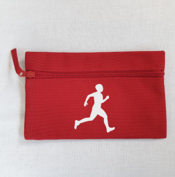 Male Runner Athletics Pencil Case