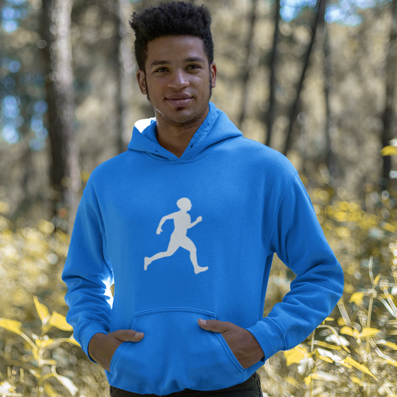 Male Runner Athletics Hoody