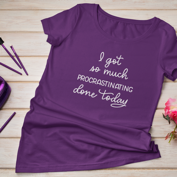 Procrastinating Adults Tshirt