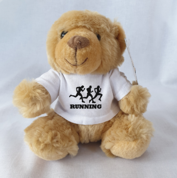 Running Athletics Teddy Bear