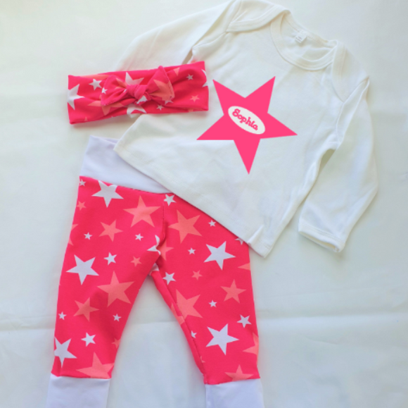 Personalised Girls Star Set