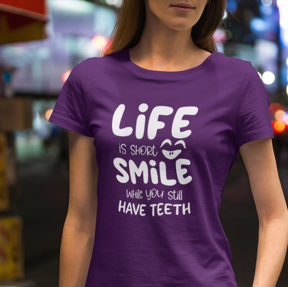 Life is Short Adults Tshirt