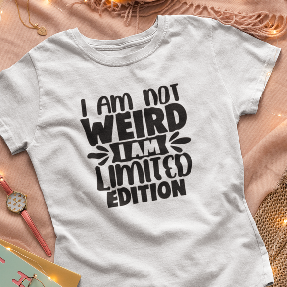 I am not Weird Adults Tshirt