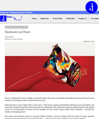 Paul Adams News  Handmade and Haute at India Art N Design