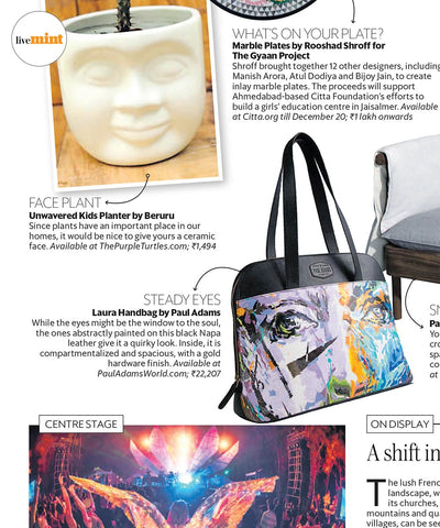 News Laura Handbag by Paul Adams World from  Epaper Live Mint