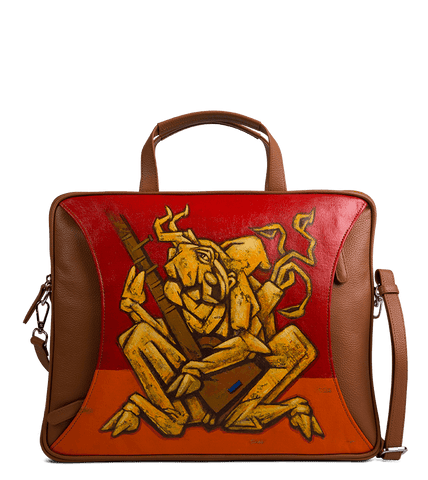 Dash Portfolio Bag Designed with Rajkumar Sarde Cubsim Art - Paul Adams World
