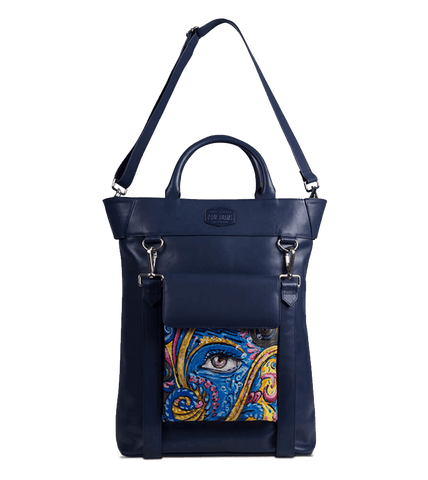Ellision Backpacks The Hand Painted Original Art Nouveau by Swapnil Jagtap - Paul Adams
