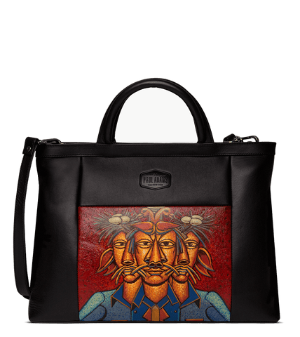 Noah Document Case Designed with Rajkumar Sarde Surrealism Art - Paul Adams