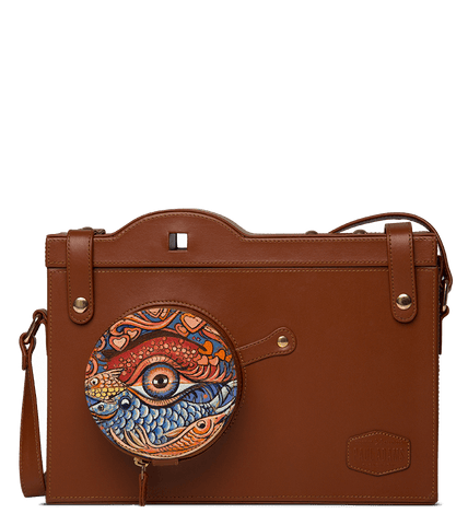 Orion Portfolio Bag Designed with Art Nouveau by Rajkumar Sarde