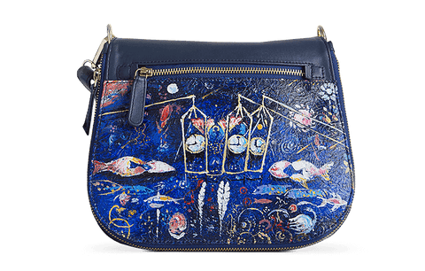 Peigi Sling Bag Designed with Surrealism Art by Vaishali Tatyaram - Paul Adams