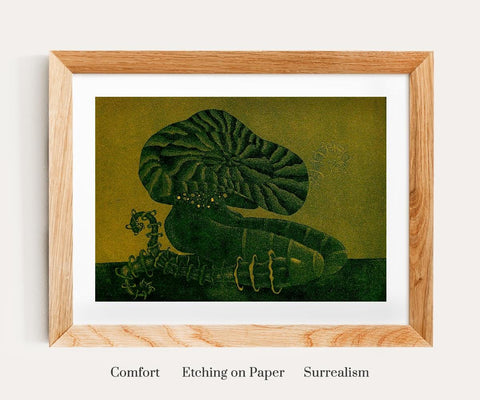 Vaishali Tatyaram Comfort Etching Paints on Canvas- Paul Adams