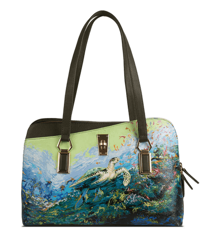 Valerie Handbag Designed with Impressionism Art by Swapnil Jagtap - Paul Adams