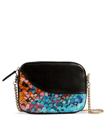 Zoe Sling Bag Designer The Hand Painted Abstract Art by Swapnil Jagtap - Paul Adams