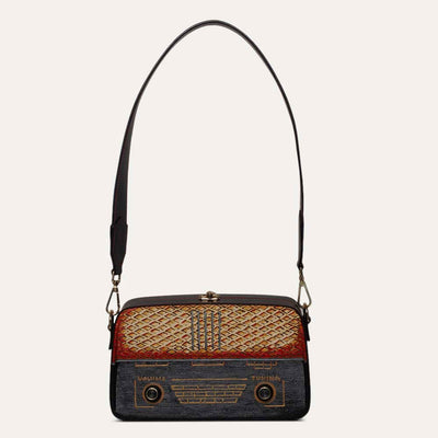 Sling Bag with soft Napa leather interiors in Red. Shop at Paul Adams world.