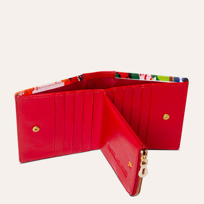 Amie Designer Wallet for Women Available in Scarlet Red and Royal Blue Color | Order Online at www.pauladams.com