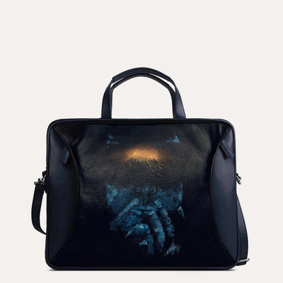 Amos portfolio bag for men, perfect for travel and evening looks. Shop at Paul Adams world.
