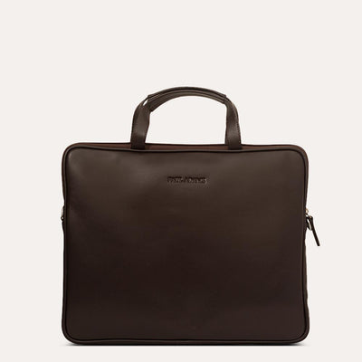 Amos Pure Leather Messenger Bag | Shop at Paul Adams