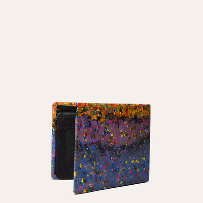Asul Designer Wallet in Metallic Black Color by Paul Adams