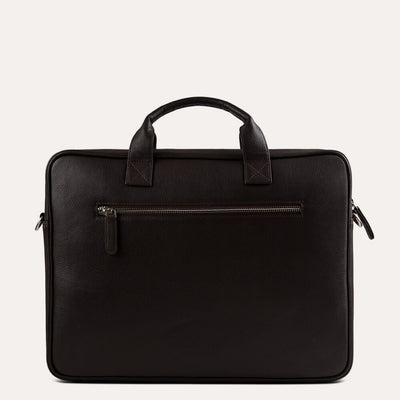Boman laptop briefcase with UV protection and waterproof. Available at pauladamsworld.com.