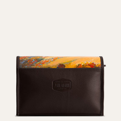 Carpe Diem Amenity Men Travel  Case in Deep Cocoa Tan | Shop at paul adams world