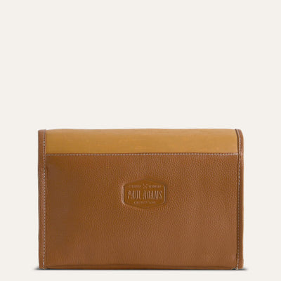 Caspar leather kit in textured full-grain leather. Shop at pauladamsworld.com.