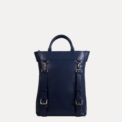 Ellison backpack with grab handles ans shoulder straps for multi-purpose. Available at Paul Adams.