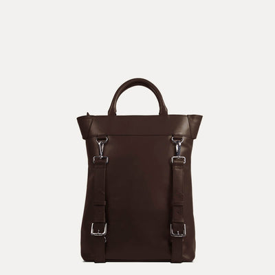 Ellison All Day Backpack in Deep Cocoa Tan Color | Buy on Paul Adams