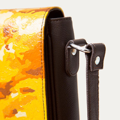 Farren Cross Body Leather  Bag for Men | Visit at Paul Adams World