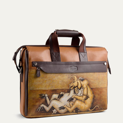 Gerwyn briefcase for men with adjustable shoulder strap. Shop at  Paul Adams world.
