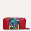 Kara Ladies Wallet Available in Scarlet Red Color | Visit at Paul Adams World