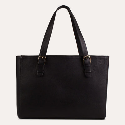 Luna leather laptop bags with soft Napa leather for women. Shop at the world of Paul Adams.