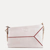Iva Soft Napa Leather Sling Bag Available in Egg Shell White  Color | Buy on Paul Adams
